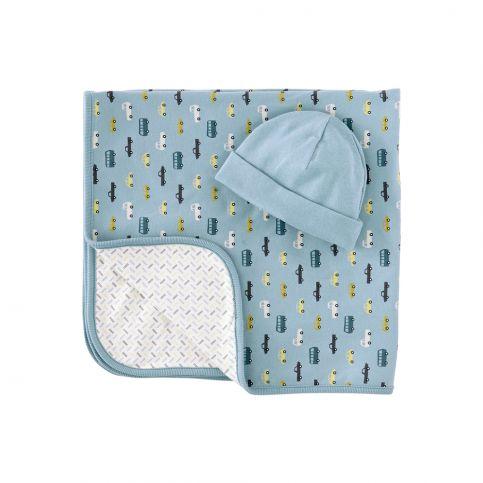 Autobahn Blanket & Hat Set