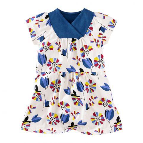 Klee's Garten Wrap Dress