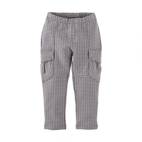 Print French Terry Cargo Pants