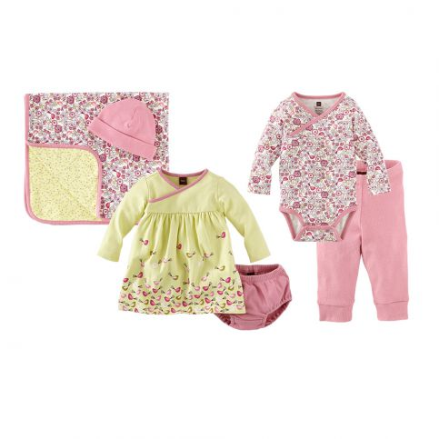 Newborn Girl Wardrobe Set