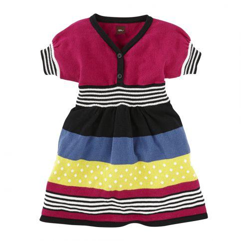Dresden Stripe Sweater Dress