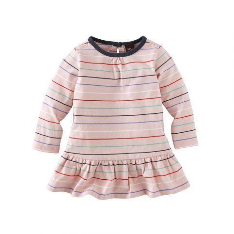 Katja Stripe Skirted Baby Dres