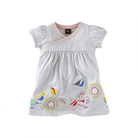 Moderner Vogel Baby Wrap Dress