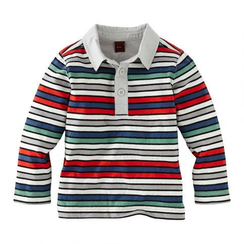 Albers Stripe Polo Shirt