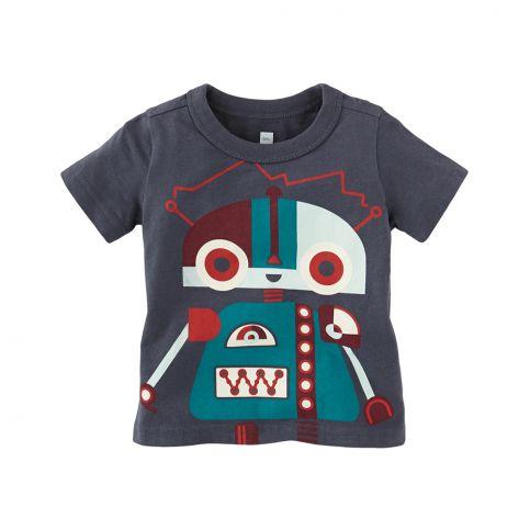 Kleiner Roboter Graphic Baby Tee