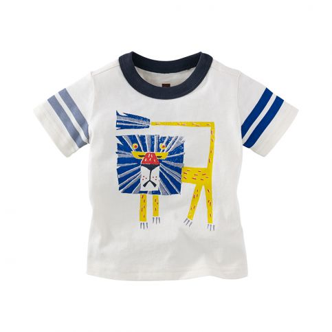Bauhaus Lion Graphic Baby Tee