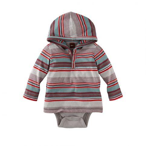 Walter Stripe Hooded Bodysuit