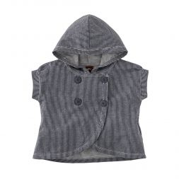 Tea Collection Railroad Stripe Hoodie