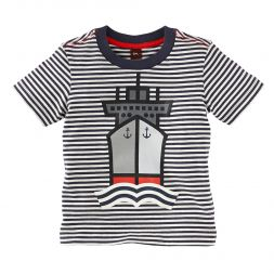 Tea Collection Nordsee Schiff Graphic Tee