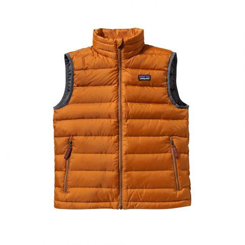Patagonia Boys Down Vest   Tea Collection