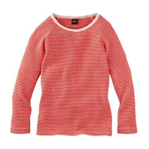 Kuschelig Striped Thermal Top