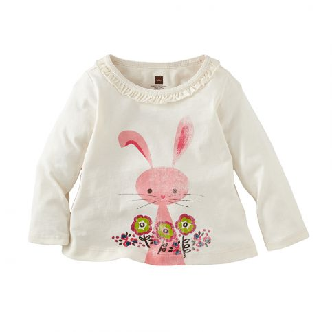 Kaninchen Graphic Baby Top