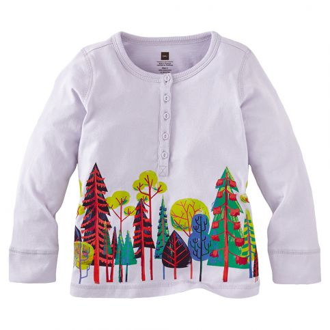 Kirchner's Forest Graphic Henley