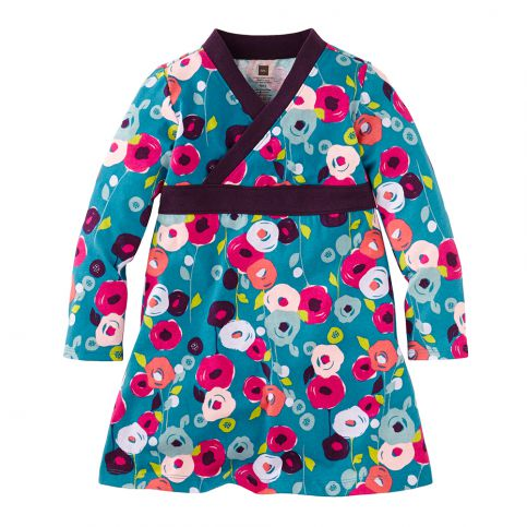 Gabriele's Garten Wrap Dress