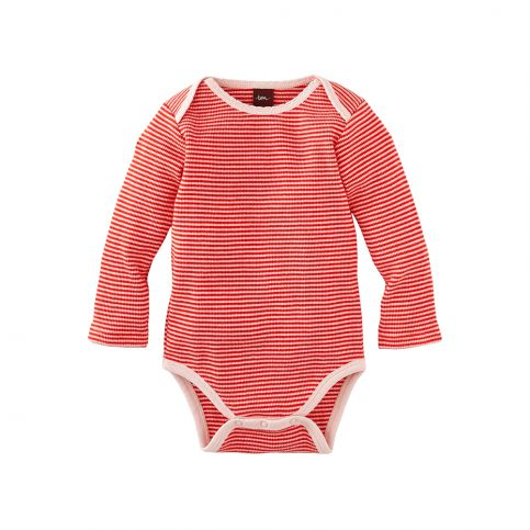Kuschelig Striped Thermal Bodysuit