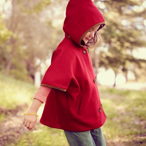 Little Red's Wool Cape