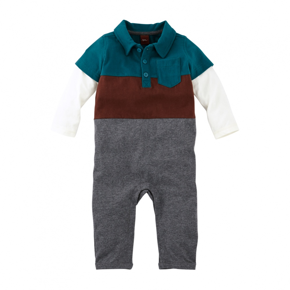 Tea Collection Bernhard Polo Romper