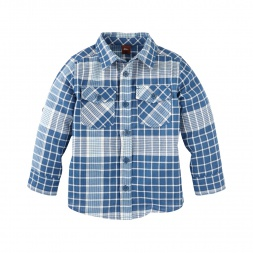 Khadi Plaid Shirt | Tea Collection