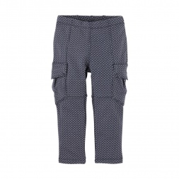 Pin Dot Skinny Cargo Pants | Tea Collection
