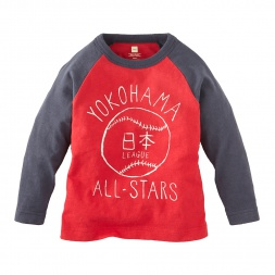 Yokohama Baseball Tee | Tea Collection