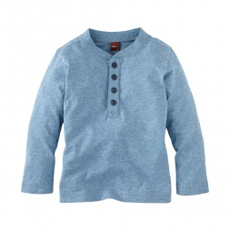 Chambray Look  Henley | Tea Collection