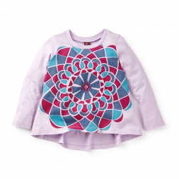 Gouthami Mandala Twirl Top | Tea Collection