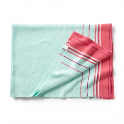 Pink Stripe Suryasta Blanket | Tea Collection