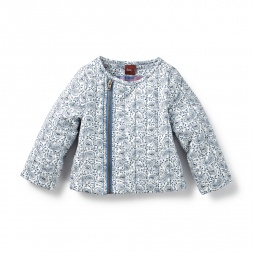 Sita Paisley Side Zip Jacket | Tea Collection