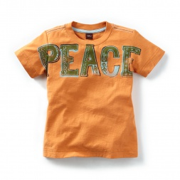Peace Graphic Tee | Tea Collection