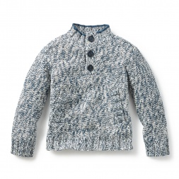 Alagan Mock Neck Sweater