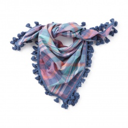 Stitch Society Madras Scarf | Tea Collection
