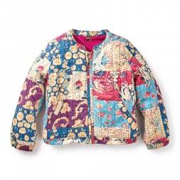 Patchwork Kantha Jacket | Tea Collection