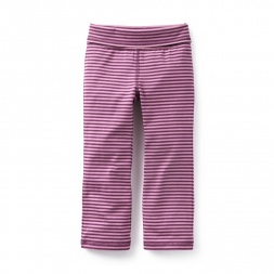 Pop Stripe Bootcut Pants | Tea Collection