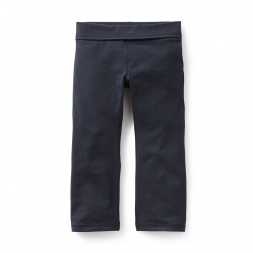 Solid Bootcut Pants  | Tea Collection