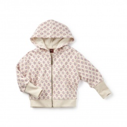 Ahladita Paisley Zip Hoodie | Tea Collection