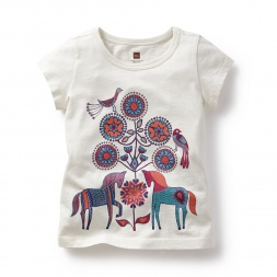 Sundarbans Kantha Graphic Tee