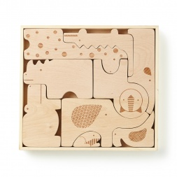Wooden Safari Puzzle | Tea Collection