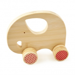 Bamboo Elephant Push Toy | Tea Collection