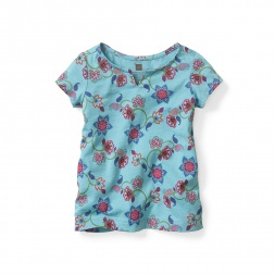 Chahna Notch Top for Baby Girls | Tea Collection