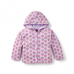 Baby Girl Navya Snap Hoodie | Tea Collection