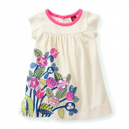 Gorumara Flora Dress for Baby Girls | Tea Collection