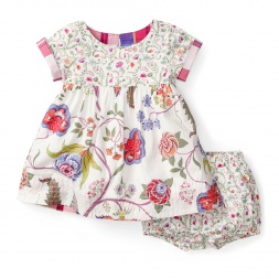 Girls Sundarbans Jungle Baby Dress | Tea Collection
