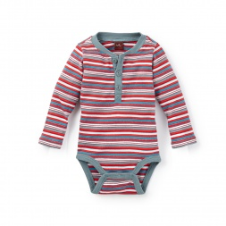 Baby Boy Akela Stripe Bodysuit | Tea Collection