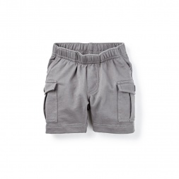 Knit Cargo Baby Shorts for Boys | Tea Collection