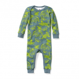 Baby Boy Jungle Friends Onepiece Sleep | Tea Collection