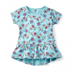 Girls Chahna Peplum Top | Tea Collection