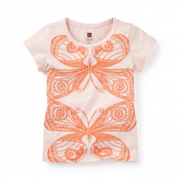Prajapati Graphic Tee Shirt for Girls | Tea Collection