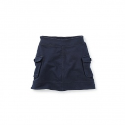 French Terry Cargo Skirt for Little Girls | Tea Collection