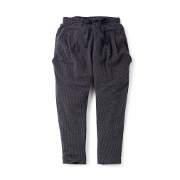 Girls Birdseye Harem Pants | Tea Collection