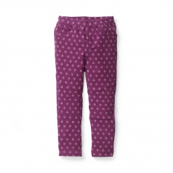Juhi Moto Pants for Girls | Tea Collection